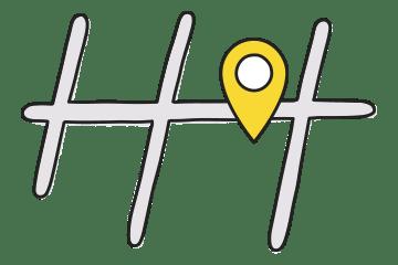 商店街マップのアイコン画像